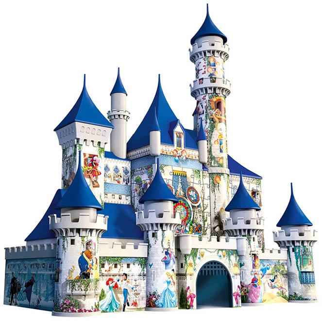 disney castillo puzzle 3d