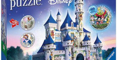castillo disney puzzle 3D