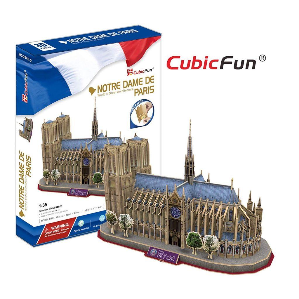 puzzle 3d Notre Dame