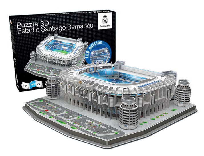 Santiago Bernabéu puzzle 3D