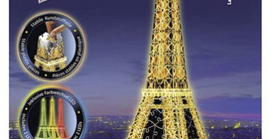 maqueta 3d Torre Eiffel