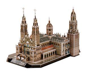 puzzle 3d Catedral de Santiago