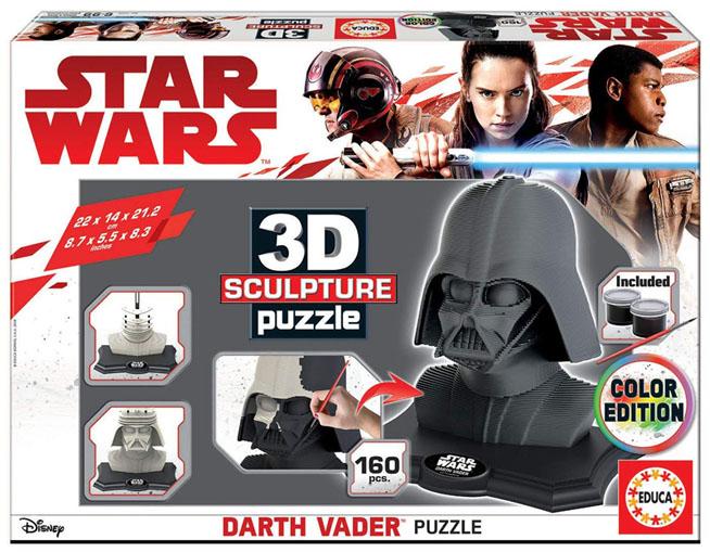 Darth Vader puzzle 3d