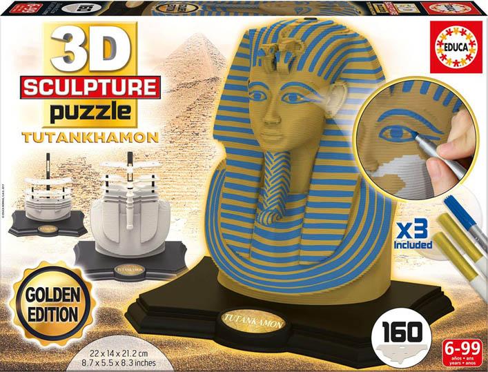 Tutankhamon puzzle 3d