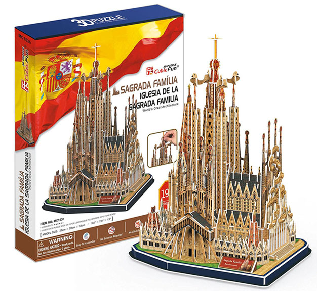puzzle monumento español