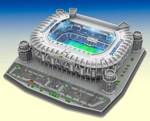 puzzle real madrid 3d