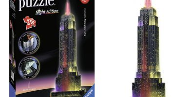 empire state puzzle 3d