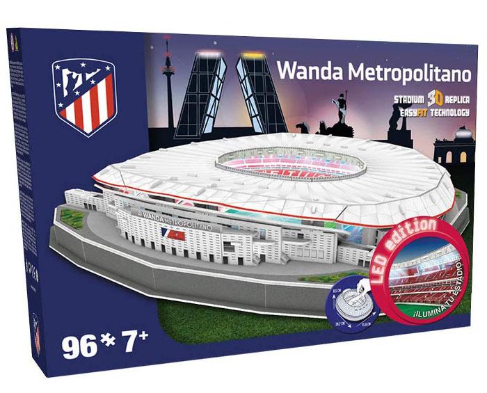 puzzle 3d wanda metropolitano led edition