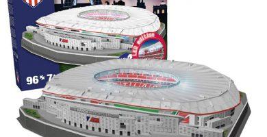 puzzle 3d estadio wanda metropolitano