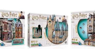 puzzles 3d harry potter