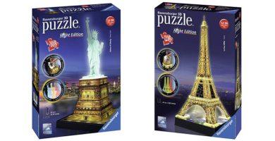 puzzles 3d luz