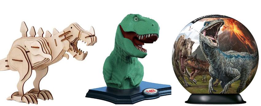 puzzle 3d dinosaurios