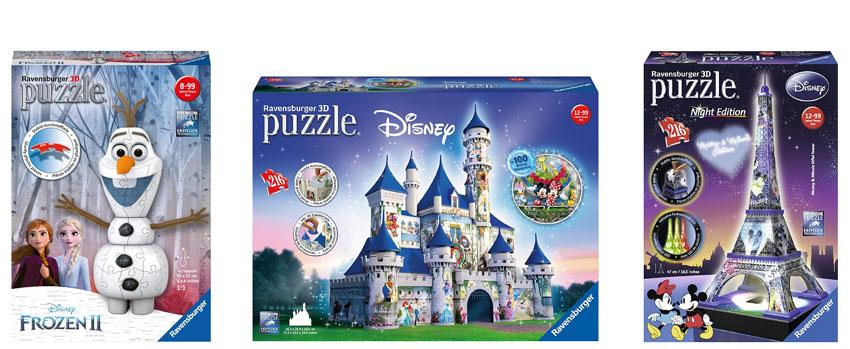 puzzles 3d disney infantiles