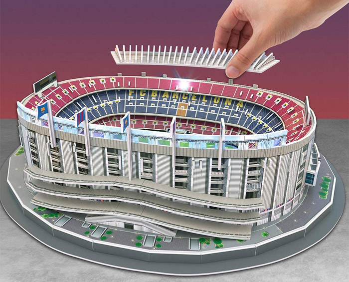 Puzzle 3D Estadio Camp Nou