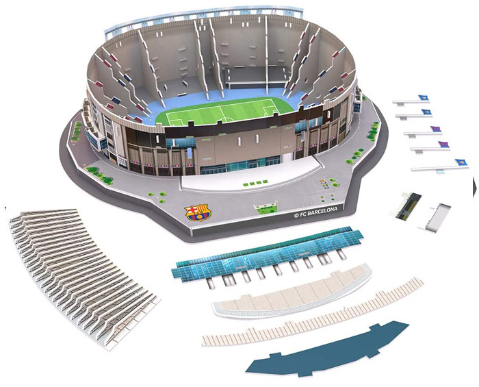 Puzzle 3D Estadio del FC Barcelona